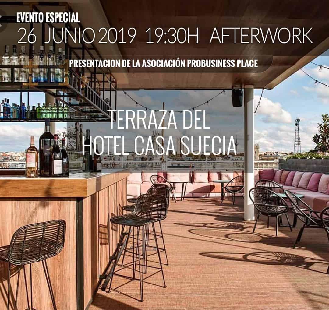 Evento Especial Afterwork Disruptivo Probusiness Place